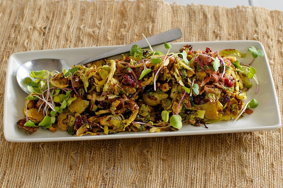 Recipe: Brussels Sprouts Salad image