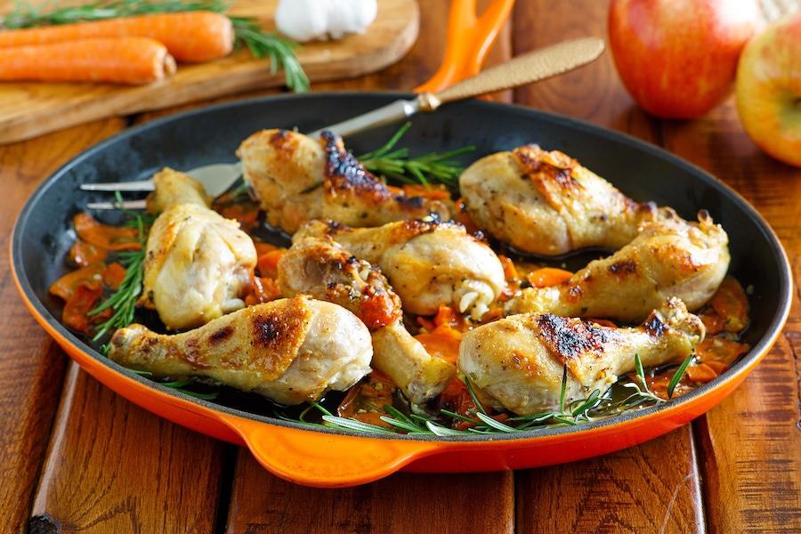 Recipe: Cider Braised Chicken image