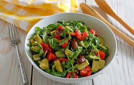 Cucumber Tomato Avocado Salad2