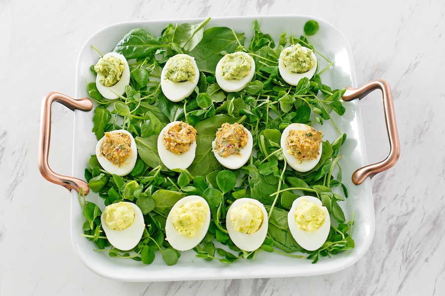 Recipe: Deviled Eggs with Homemade Mayo image