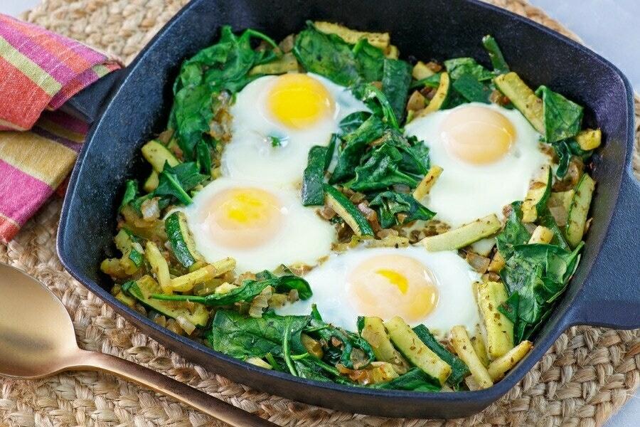 Recipe: Green Shakshuka image