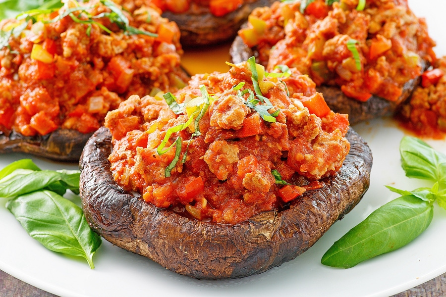 Recipe: Paleo Stuffed Portabella Mushrooms image