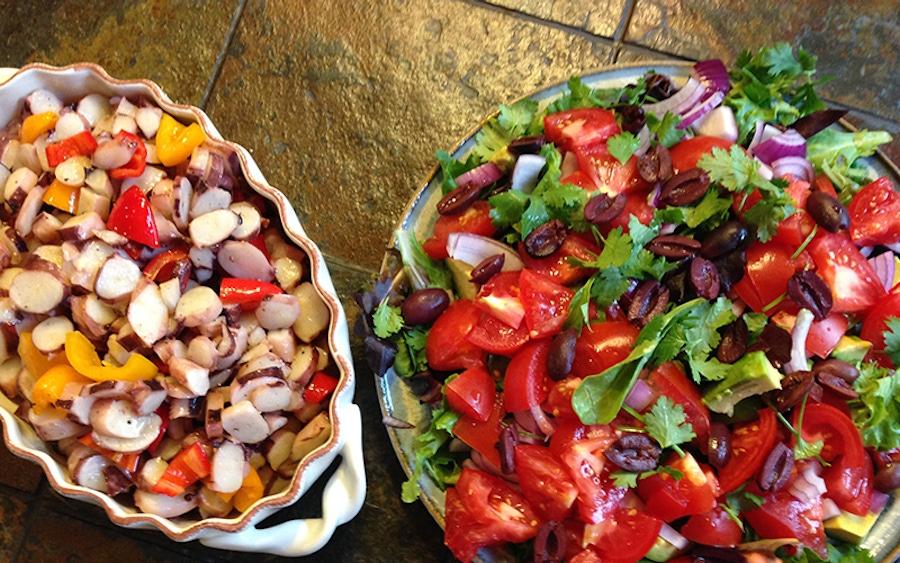Recipe: Calamari Salad image