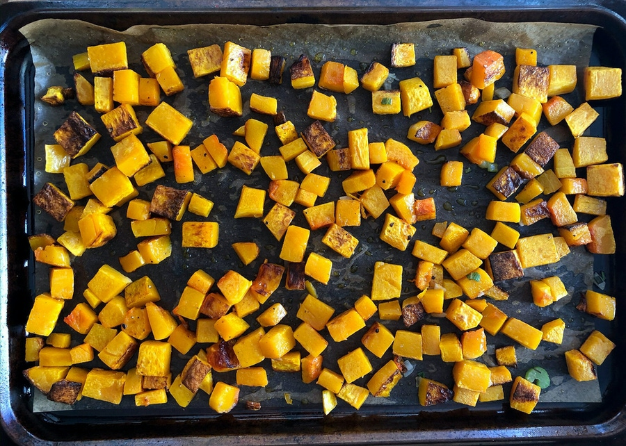 Paleo Thanksgiving Stuffing with Butternut Squash image