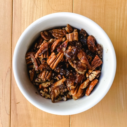 Paleo Sweet Potato Casserole with Pecan Streusel Topping image