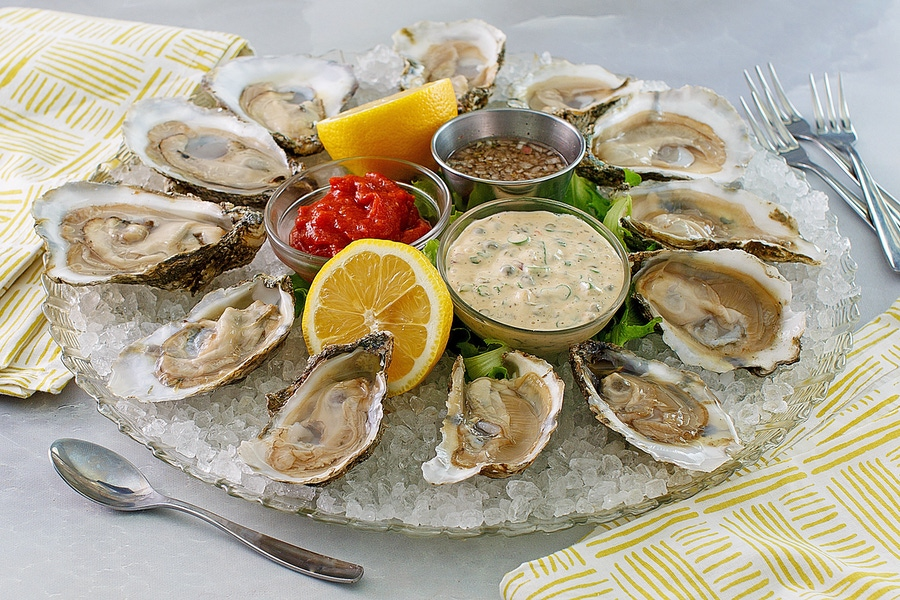 Recipe: Oysters on the Half Shell Classic Trifecta image