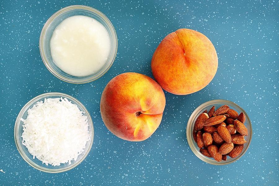 Recipe: Paleo Peach Crumble image