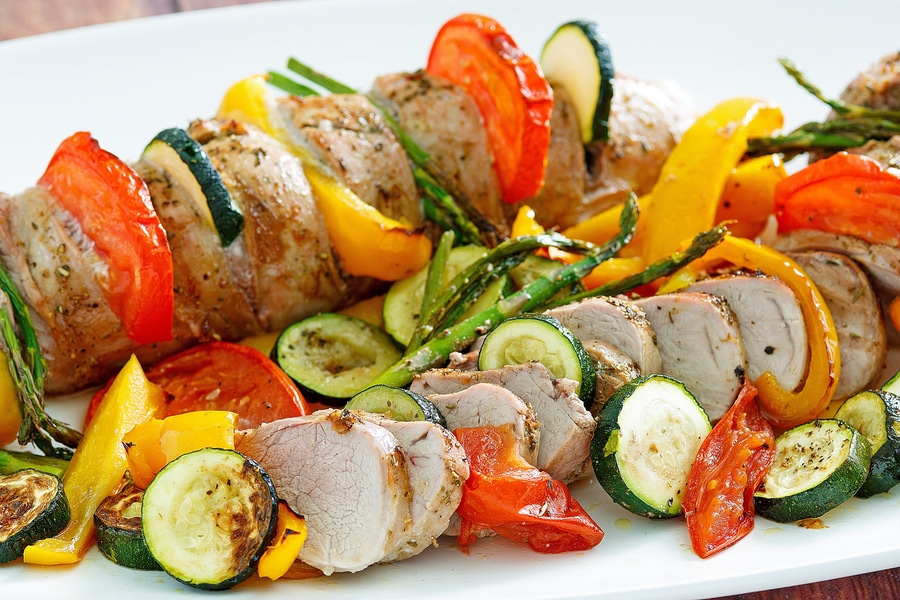 Recipe: Primavera Pork Tenderloin image