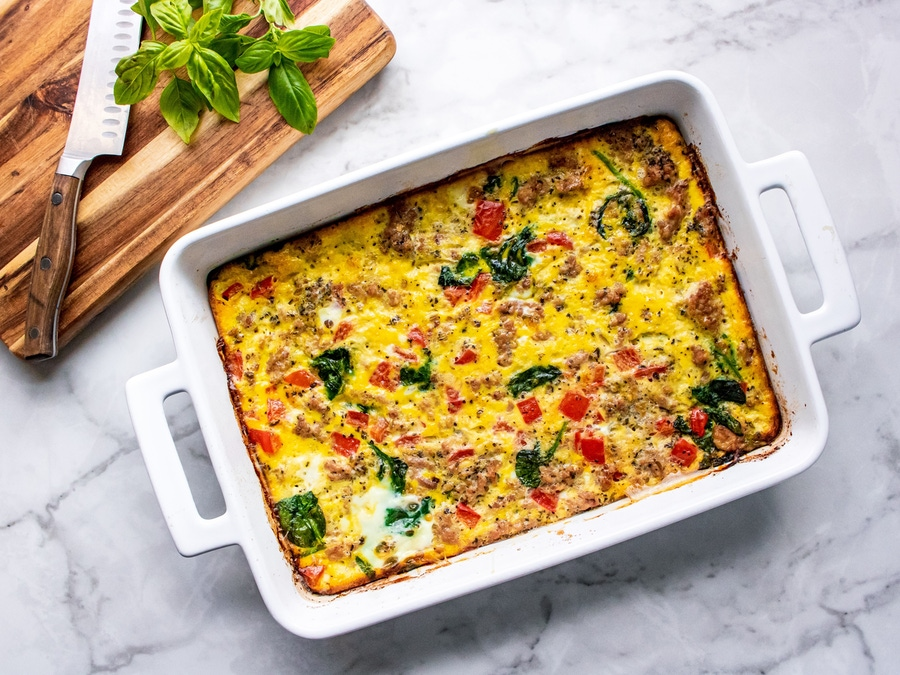 Recipe: Protein-Packed Breakfast Casserole image