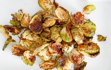 Roasted Garlic Balsamic Brussels Sprouts FINAL06