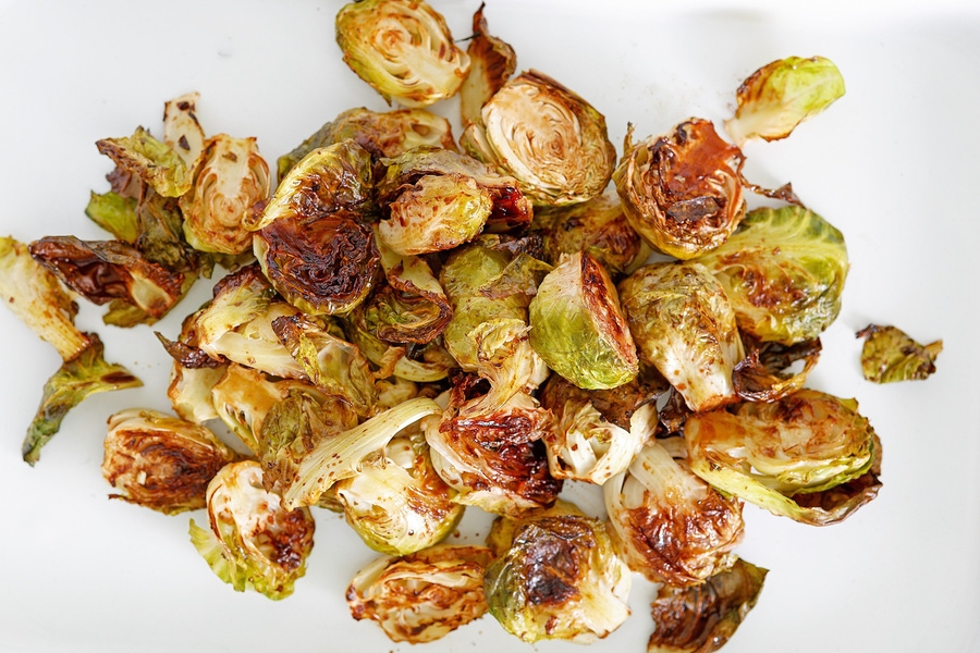 Recipe: Roasted Brussels Sprouts with Garlic Balsamic Glaze image