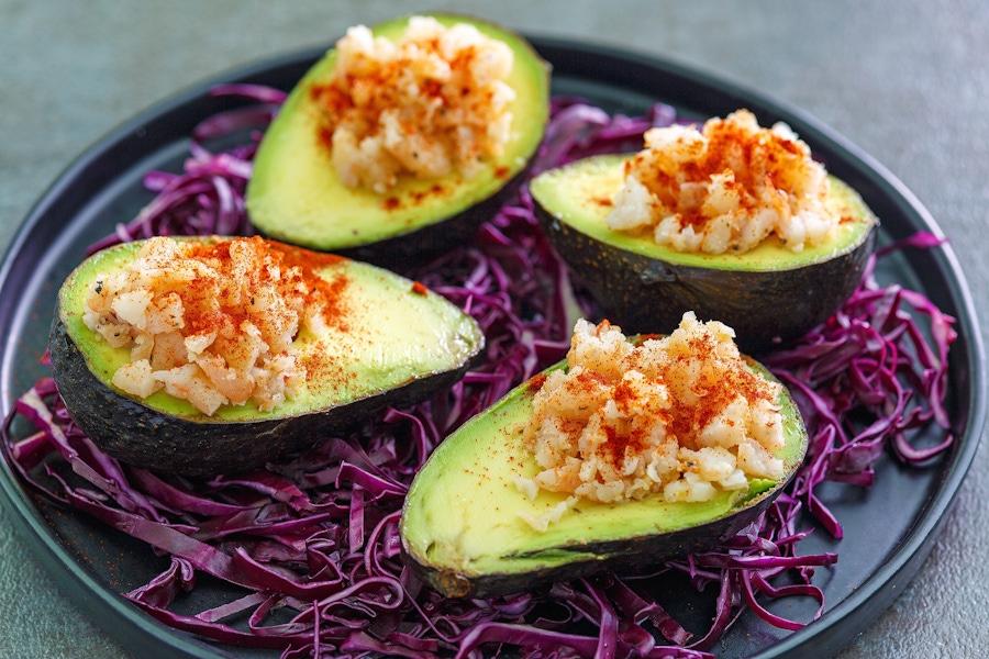 Recipe: Shrimp-stuffed avocados image