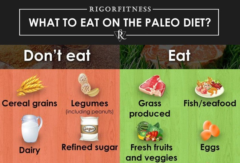 What to Eat on a Paleo Diet Banner