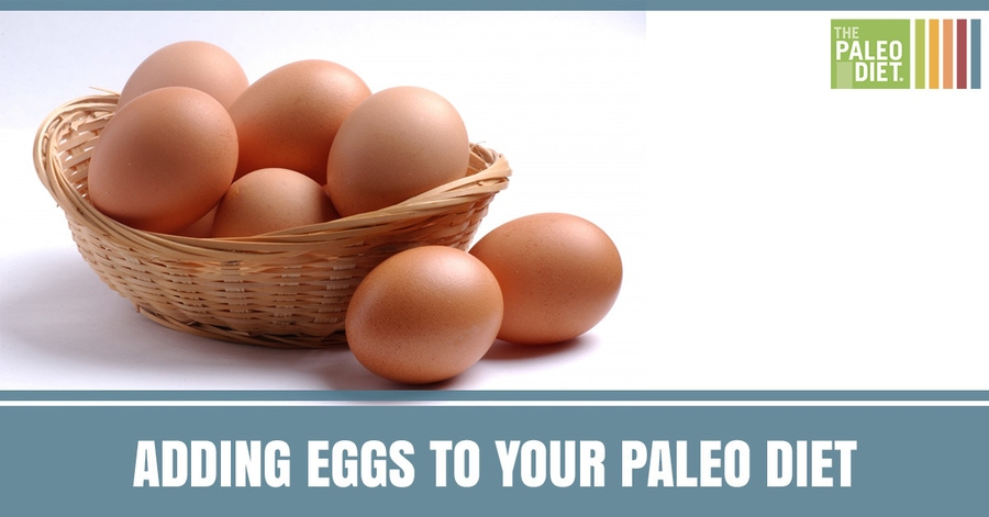 can you eat eggs in paleo diet