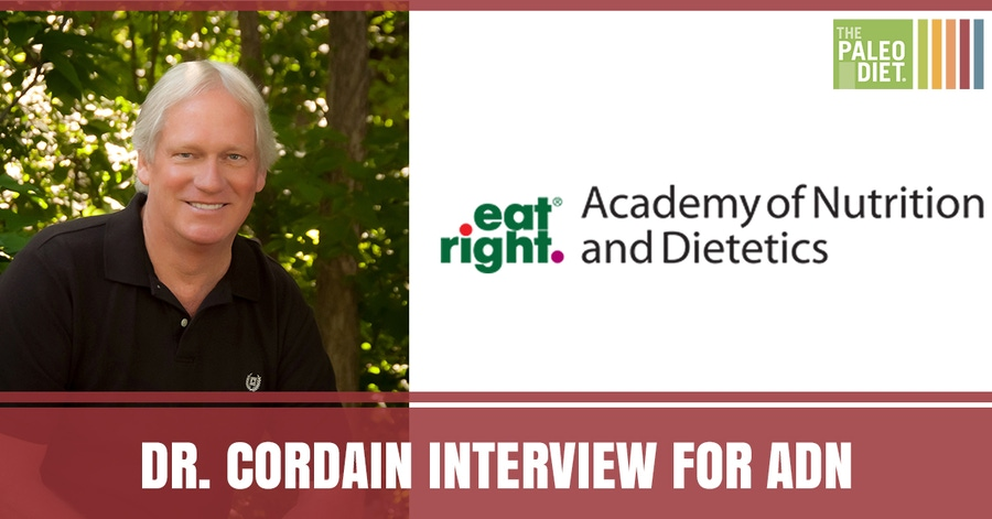 Dr. Cordain Interview for Academy of Nutrition and Dietetics image