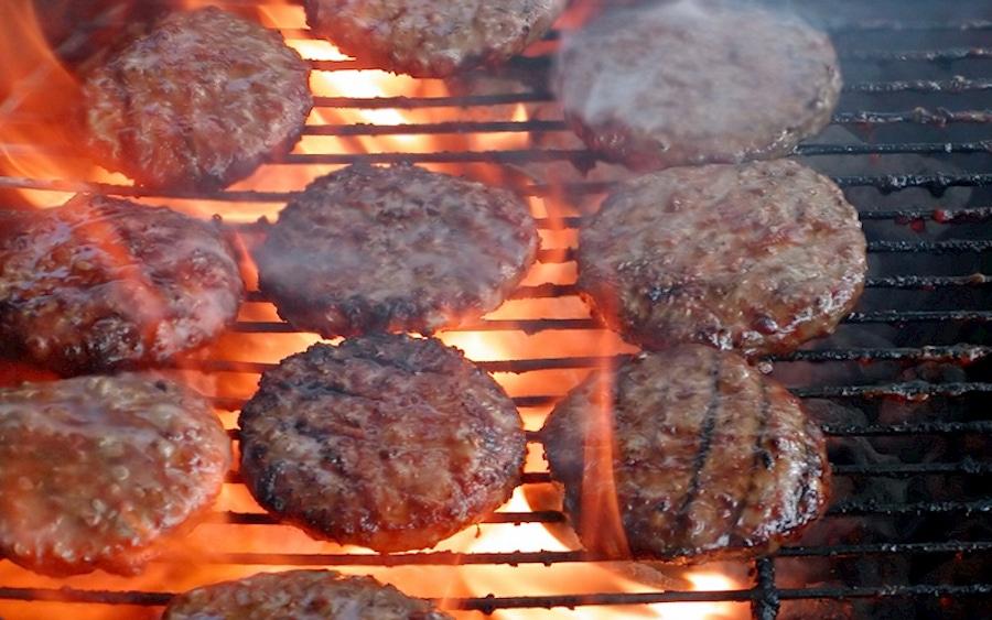 Recipe: Curry Cilantro Burgers image