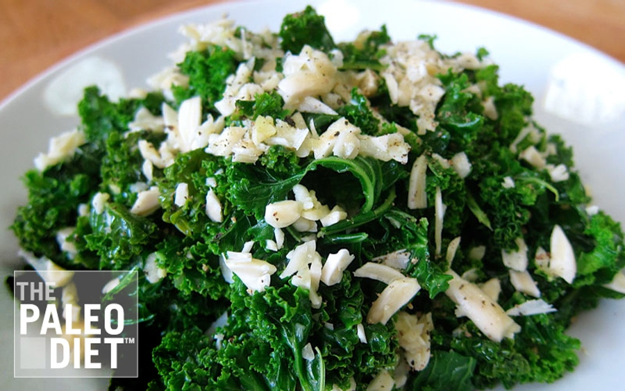 Recipe: Almond Lime Kale Salad image
