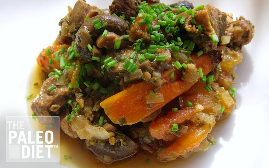 Recipe: Lamb Roast with Veggies and Mushrooms: One-Dish Meal image