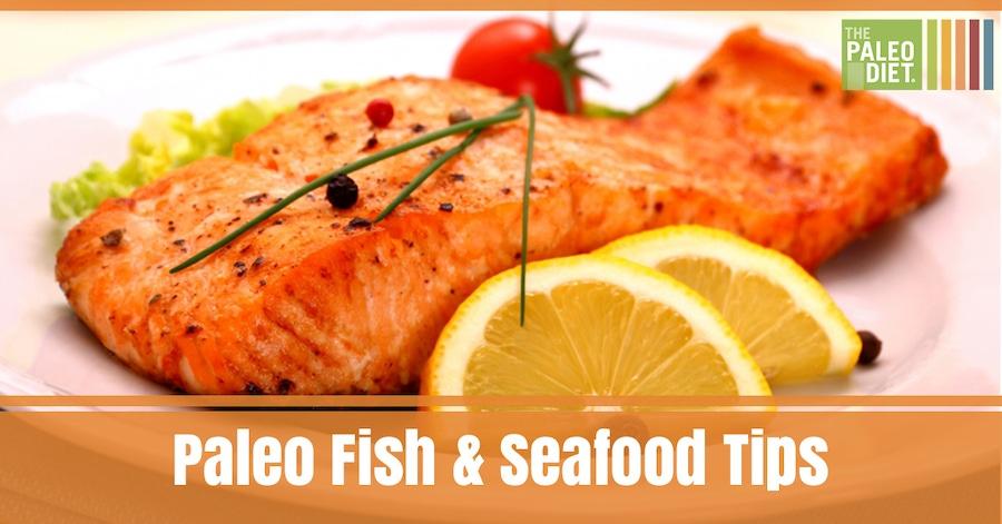 Paleo Fish & Seafood Tips image