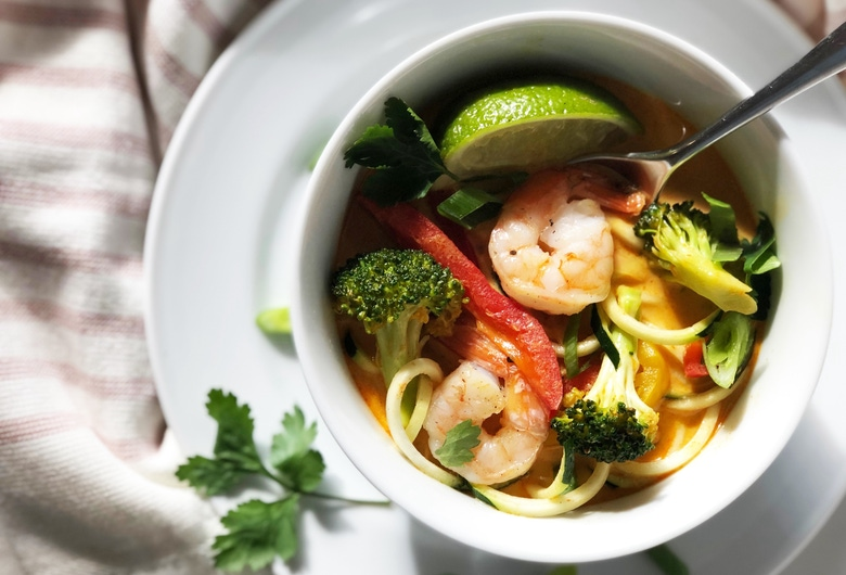 Thai curry zoodles 3
