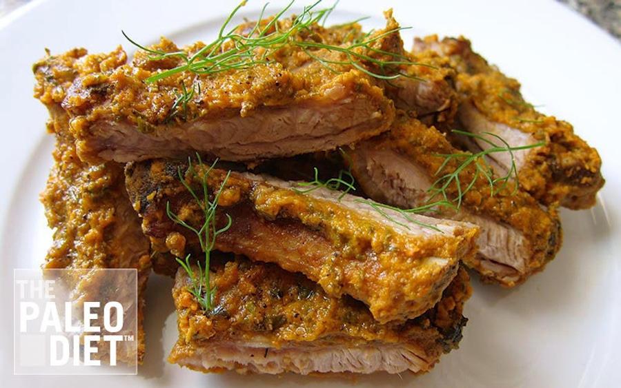 Recipe: Rosemary Tomato Pork Ribs image